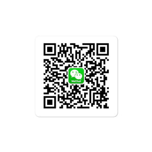WeChat Custom QR Code DECAL