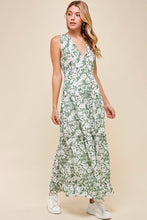 Load image into Gallery viewer, Green Floral Maxi