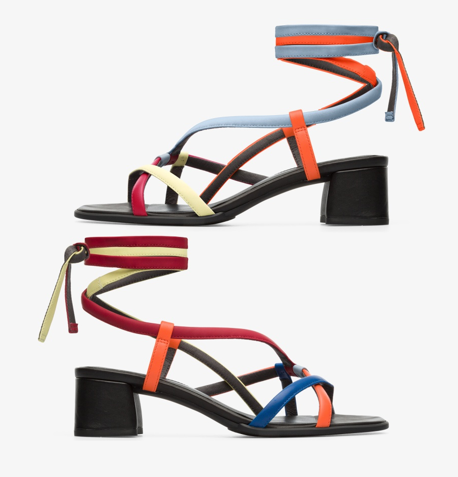 Camper Twins Multicolor Sandal