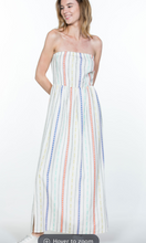 Load image into Gallery viewer, Multicolor Stripe Maxi