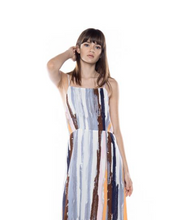 Load image into Gallery viewer, Abstract Print Maxi Dress