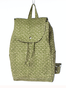 Olivette Canvas Backpack