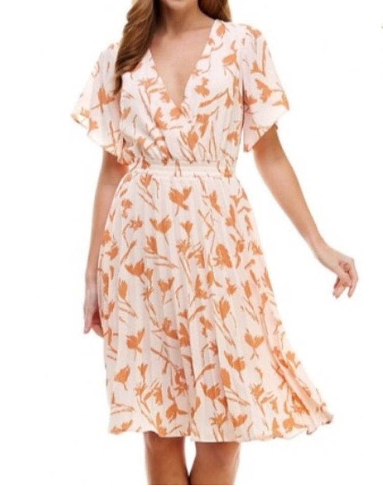 Peachy Orchards Empire Dress