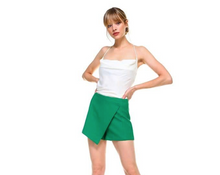 Load image into Gallery viewer, Green Mini Skort