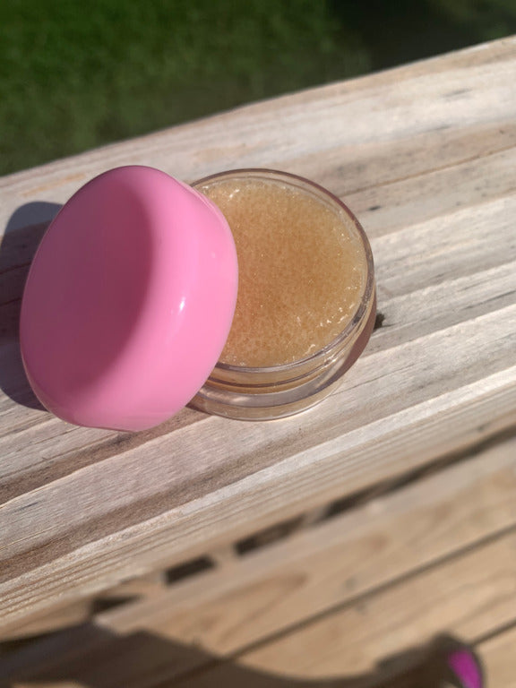 Load image into Gallery viewer, Honey- Lemon Lip Scrub