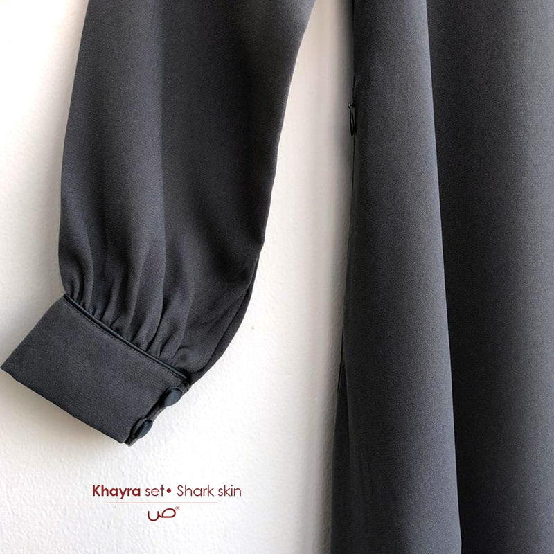 Khayra Set Sharkskin