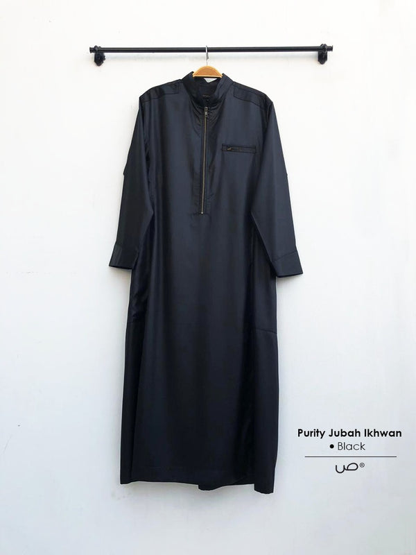 Purity Jubah Ikhwan Black