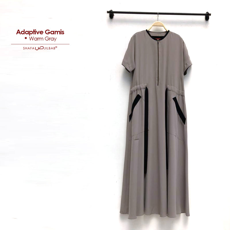 Adaptive Dress Warm Gray - 20