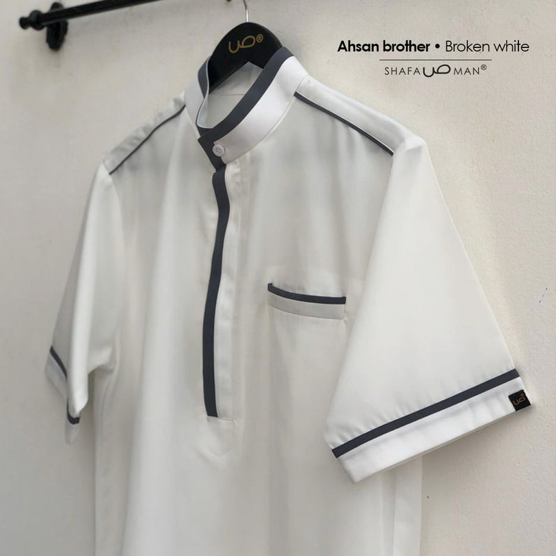 Ahsan Brother Broken White