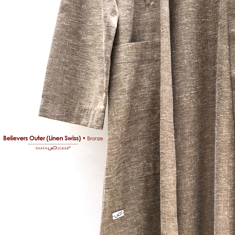 Believers Outer (linen swiss) Bronze - 20