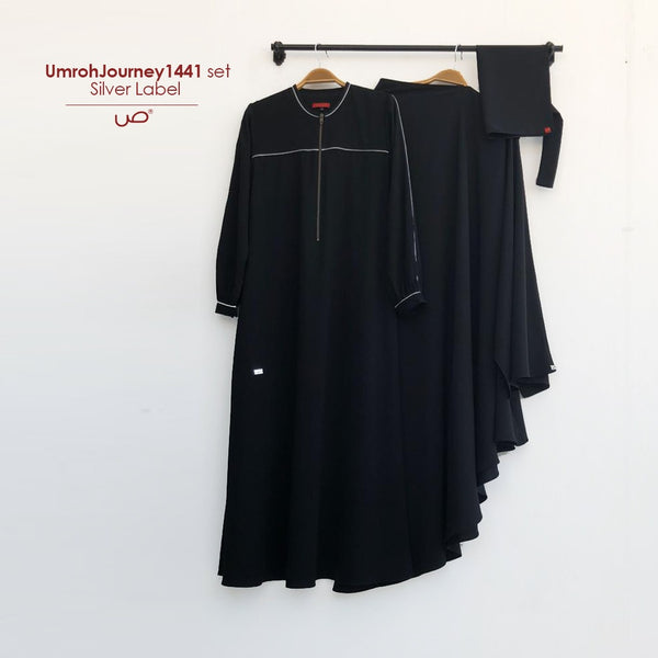 UmrohJourney1441 Set Silver Label (tanpa niqab)