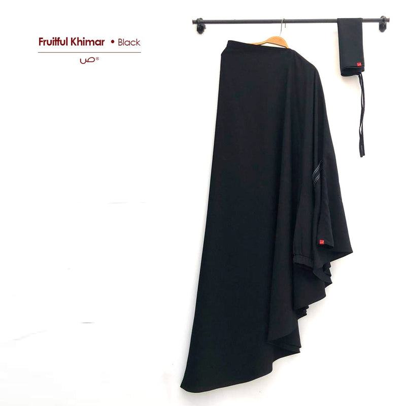 Fruitful Khimar Black - 20
