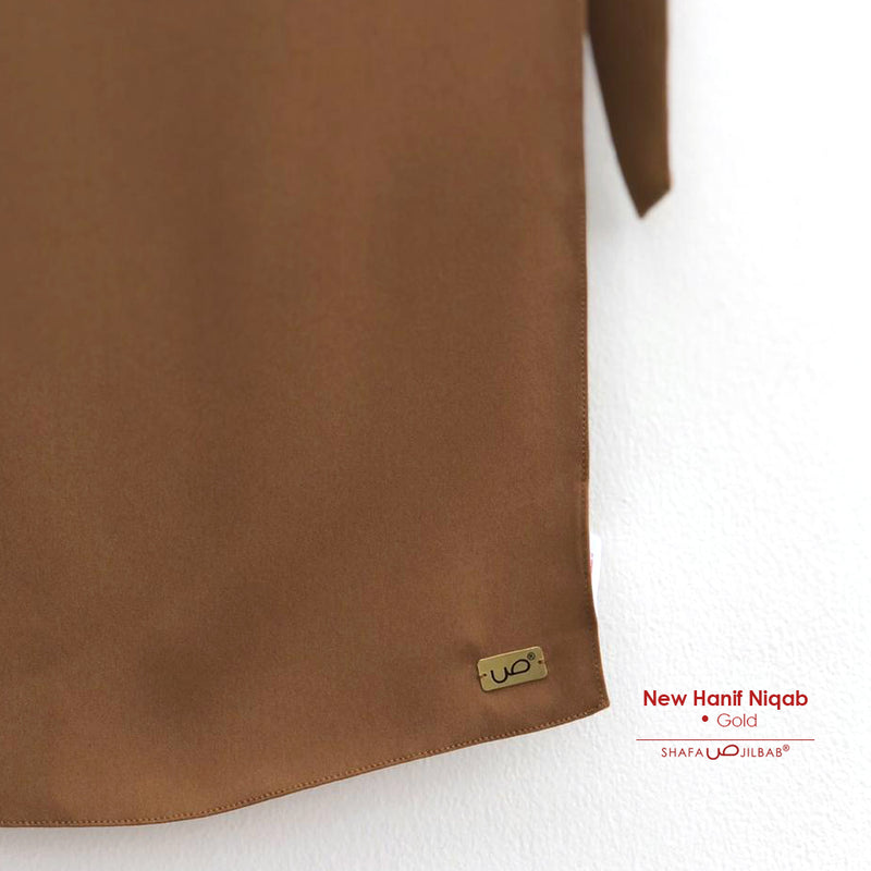 New Hanif Niqab Gold - 20