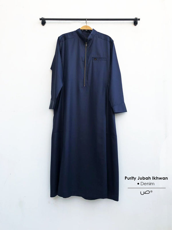 Purity Jubah Ikhwan Denim