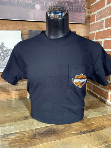 Harley-Davidson Montréal Bar & Shield Pocket T-shirt - 302900270