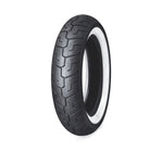 Pneu arrière Dunlop - D401 150/80B16 Wide Whitewall - 16 in. - 55192-10