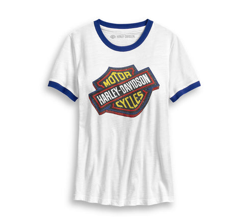 Women's Tilted 3-D Logo Tee - 96354-20VW