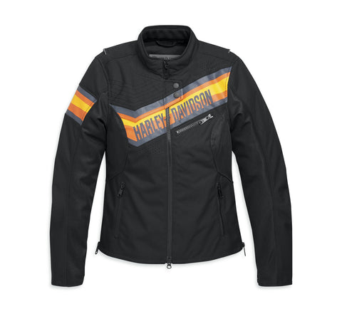 Women's Sidari Mesh & Textile Riding Jacket - 98165-20VW