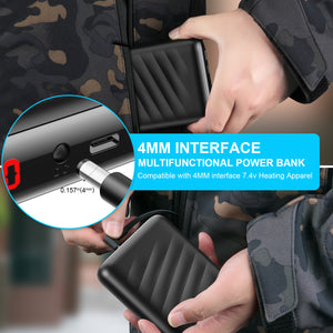 Heated Jacket 7.4V Power Bank with Intelligent Led Display Battery Charger