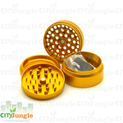 Aerospaced Grinder 4 Parti Ø63Mm Oro Grinder