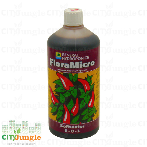 Ghe Flora Micro Softwater 1L Fertilizzante