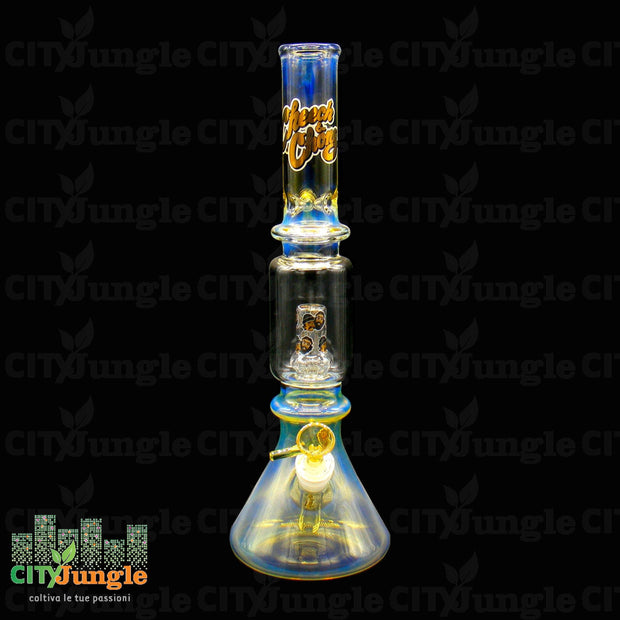 Glass Framed Pipe 40Cm Bong
