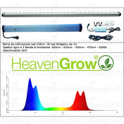 Heaven Grow - Grow Bar 52W 120Cm Lampada Led