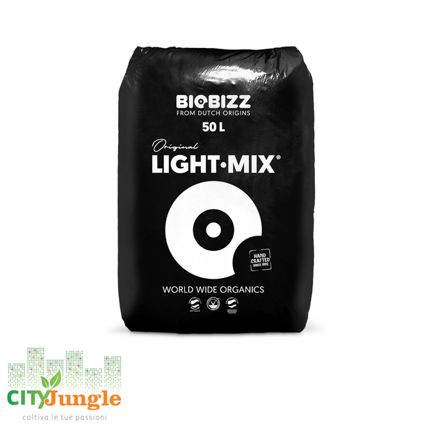 Biobizz Light Mix 20L Substrato