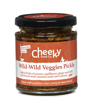 Load image into Gallery viewer, Wild Wild Veggies Pickle - Cheeky Food Company