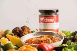 Load image into Gallery viewer, Hot Chilli Hot Sprinkle - Cheeky Food Company
