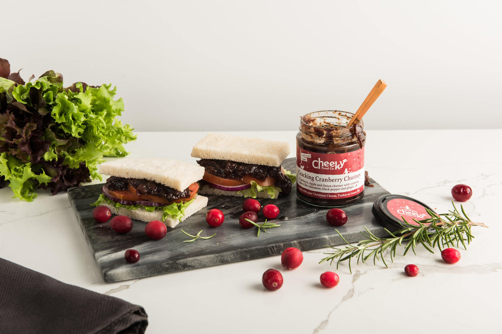 Cracking Cranberry Chutney - Cheeky Food Company