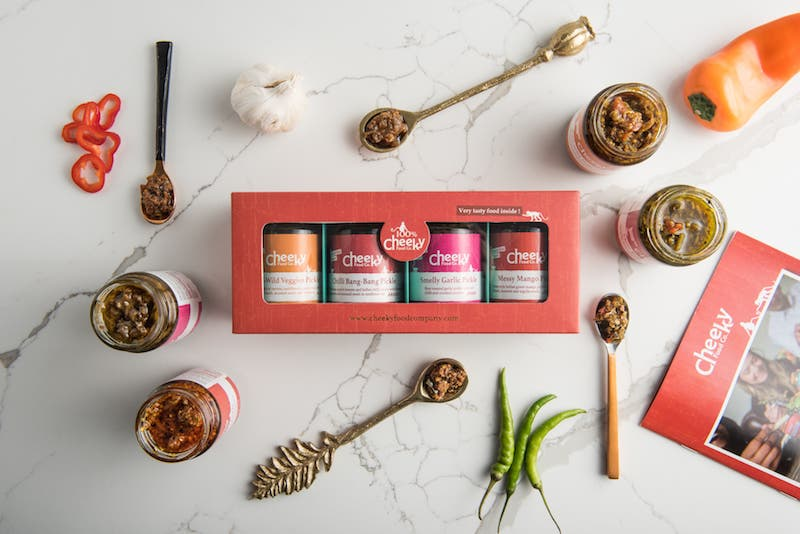 Indian Pickles Gift Set - Cheeky Food Company