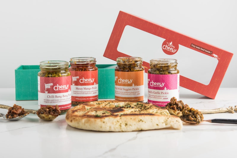 Load image into Gallery viewer, Indian Pickles Gift Set - Cheeky Food Company