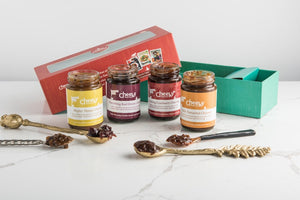 Indian Chutney Gift Set - Cheeky Food Company