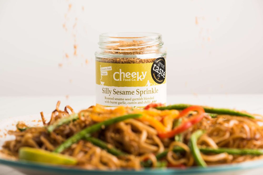 Silly Sesame Sprinkle - Cheeky Food Company