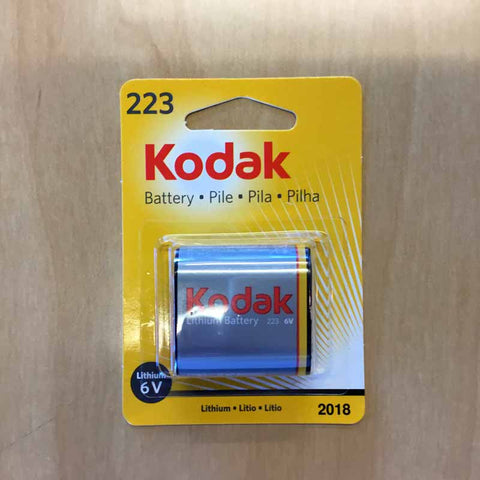 Kodak 223 6V Battery