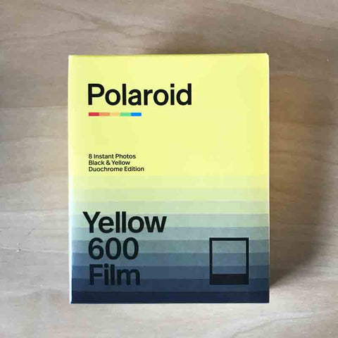 Polaroid Duochrome 600 Black & Yellow
