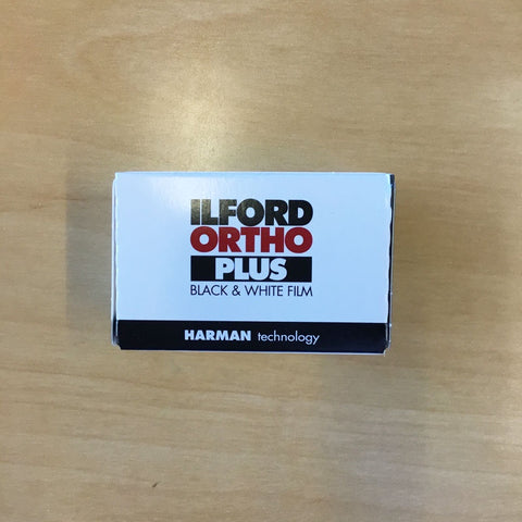 Ilford Ortho Plus 80/36