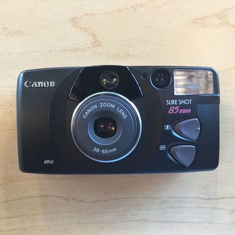 Canon Sure Shot 85 Zoom Black Model 210108