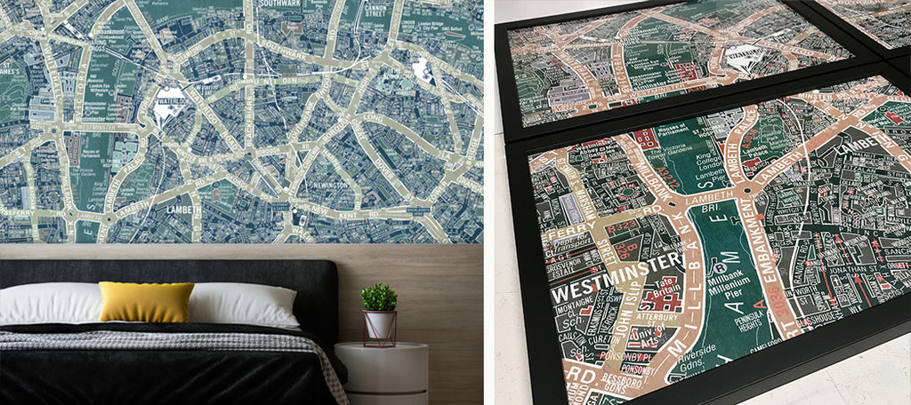 Boutique Maps by ATADesigns by ATADesigns for Care Homes