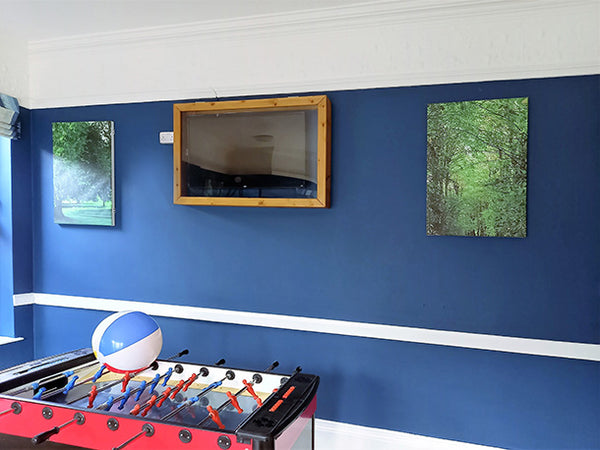 Towerview Care Featuring Canvas Prints by ATADesigns in Newly Decorated Room
