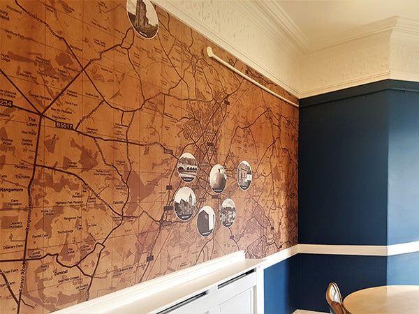 Bespoke Mural Design by ATADesigns Installed at Towerview Care.  Printed by Switchscene.