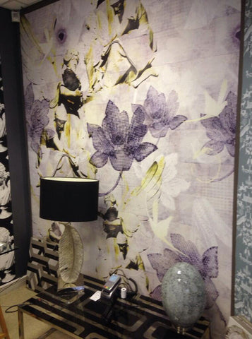 Among Angels Mural Design by ATADesigns features at the The Design Hub