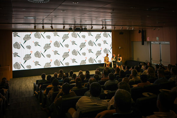 ATADesigns Talking about her work The Marriott Hotel County Hall (London) at HP Print Interiors Forum - Barcelona
