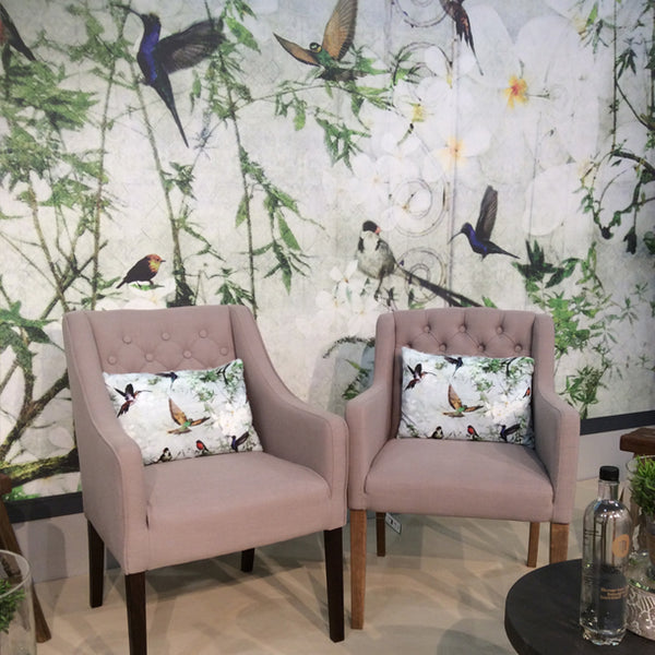 Birds Cushions Design by ATADesigns at the Independent Hotel Show - Innovation Stage - London