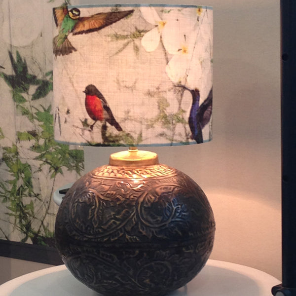 Birds Lampshade Design by ATADesigns at the Independent Hotel Show - Innovation Stage - London