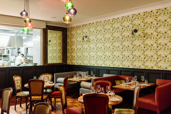 Birds Wallpaper Design by ATADesigns at The Beaumont Hotel, Hexham