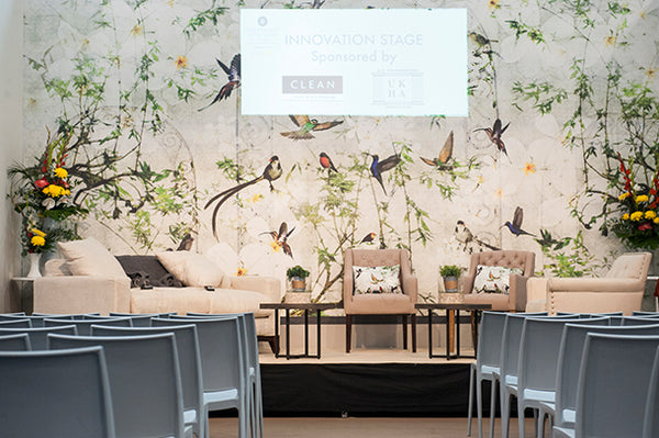 Birds Mural Design by ATADesigns at the Independent Hotel Shhow 2015