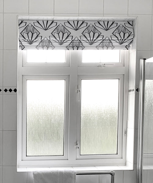 Deco Fans Roman Blind Design by ATADesigns - Residential Project