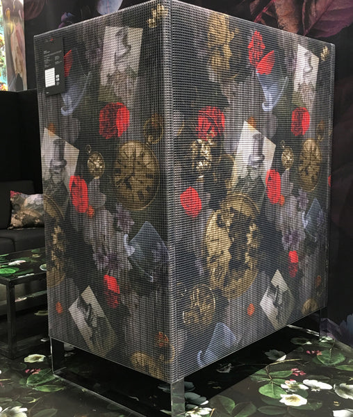 Designs by ATADesigns and Introducing Collaboration Design by Arka Chergui on HP Stand at Heimtextil 2018 in Association with Trendease International